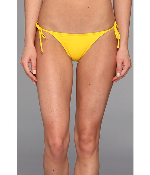 Costume de baie Volcom - Simply Solid Flutter Back Skimpy Bottom - Yellow