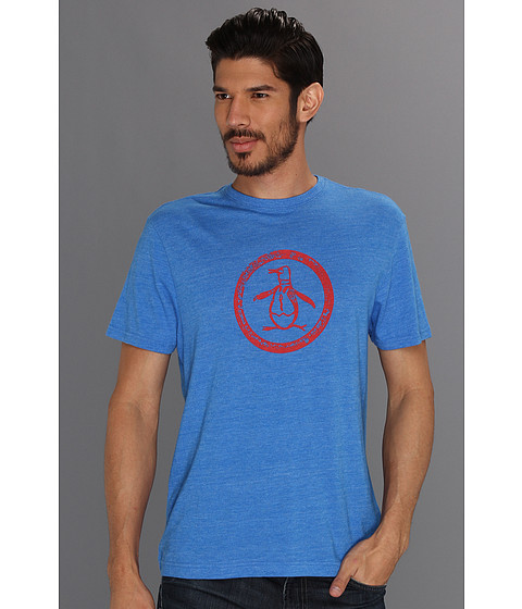 Tricouri Original Penguin - Tri-Blend Circle Logo Tee - Star Sapphire