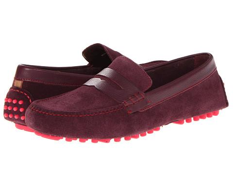 Pantofi Cole Haan - Air Grant Penny Loafer - Seedling Suede/Seedling Grain/Punch