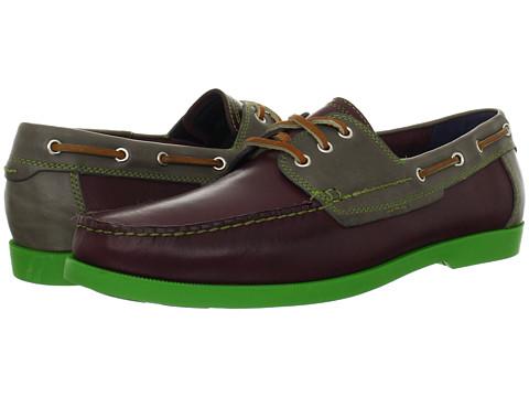 Pantofi Cole Haan - Fire Island Boat - Seedling/Ironstone/Green