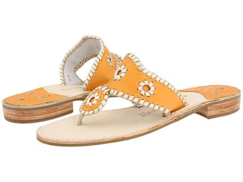 Sandale Jack Rogers - Palm Beach Navajo Platinum - Orange/Platinum