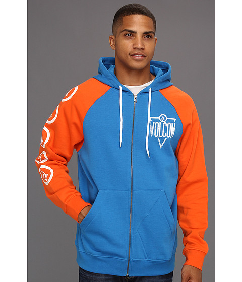 Bluze Volcom - Trenton Zip Fleece - Blue
