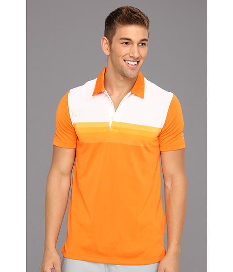 Tricouri PUMA - Yarn Dye Stripe Polo Tech - Vibrant Orange