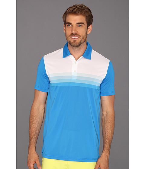 Tricouri PUMA - Yarn Dye Stripe Polo Tech - Brilliant Blue