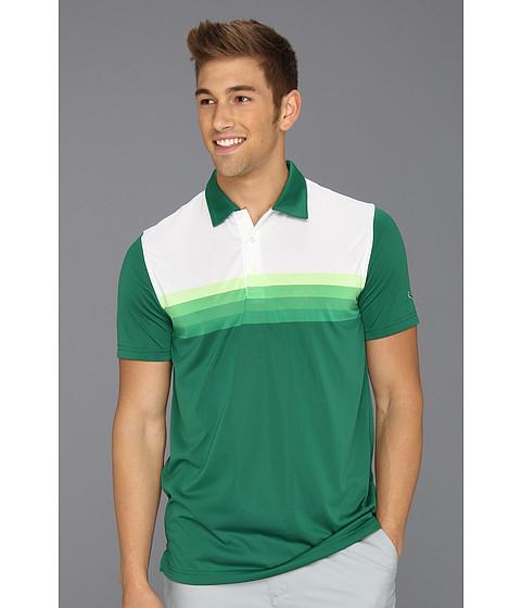 Tricouri PUMA - Yarn Dye Stripe Polo Tech - Verdant Green