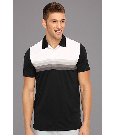 Tricouri PUMA - Yarn Dye Stripe Polo Tech - Black