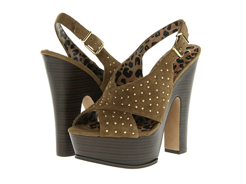 Pantofi Jessica Simpson - Kingston - Aged Bronze Split Suede