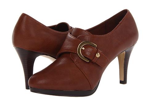 Pantofi Anne Klein New York - Winterlyn - Cognac Nappa PU