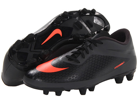 Adidasi Nike - Hypervenom Phade FG - Dark Charcoal/Black/Total Crimson