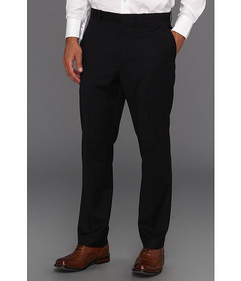 Pantaloni Perry Ellis - Slim Fit Mini Stripe Pant - Midnight Blue