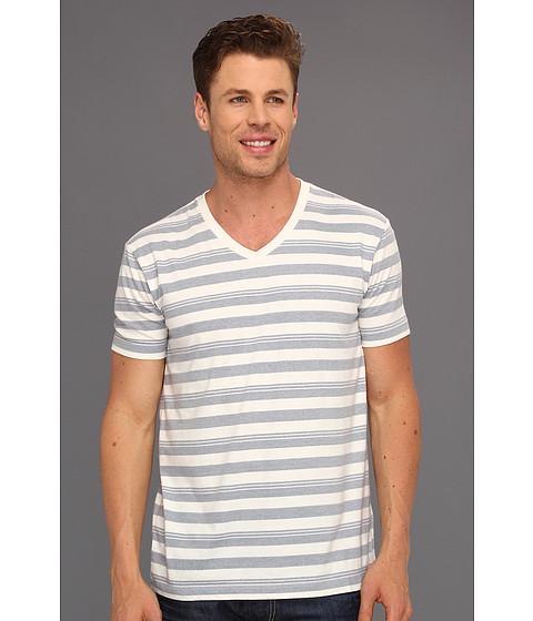 Tricouri Lucky Brand - Baja Stripe V Neck - Multi