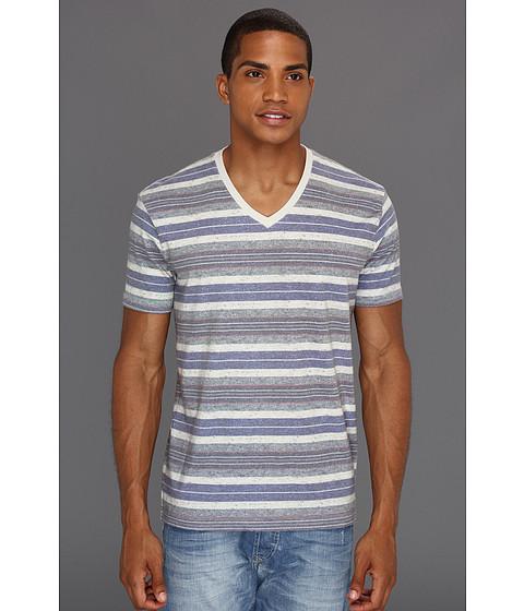 Tricouri Lucky Brand - Baja Stripe V-Neck - Multi