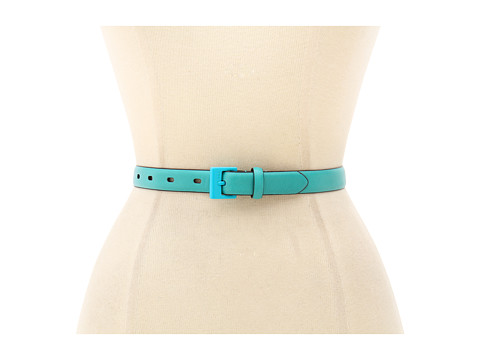 Curele LAUREN Ralph Lauren - Veg Leather Belt with Resin Buckle - Aegean