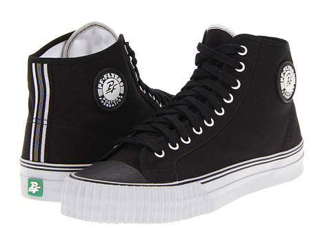 Adidasi PF Flyers - Center Hi - Black/Grey