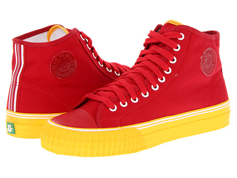 Adidasi PF Flyers - Center Hi - Red/Yellow