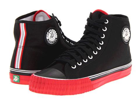 Adidasi PF Flyers - Center Hi - Black/Red