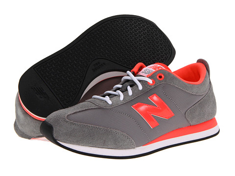 Adidasi New Balance - WL550 - Grey/Orange