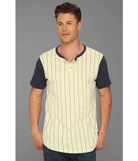 Tricouri RVCA - Ellis Henley S/S Knit Shirt - Haze