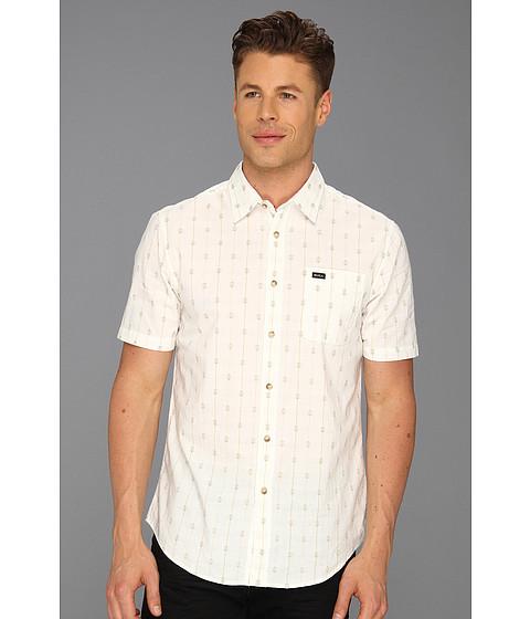 Tricouri RVCA - Sumac S/S Woven Shirt - Vintage White