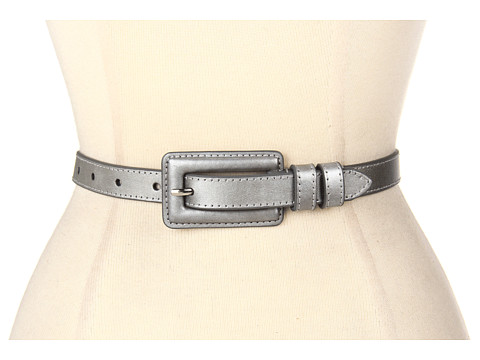 Curele Lodis Accessories - Culver City Covered Buckle Pant - Pewter