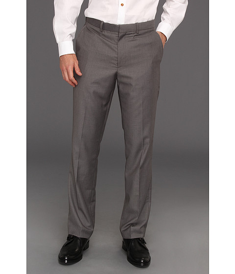 Pantaloni Perry Ellis - Regular Fit Solid Suit Pant - Iron Ore Heather