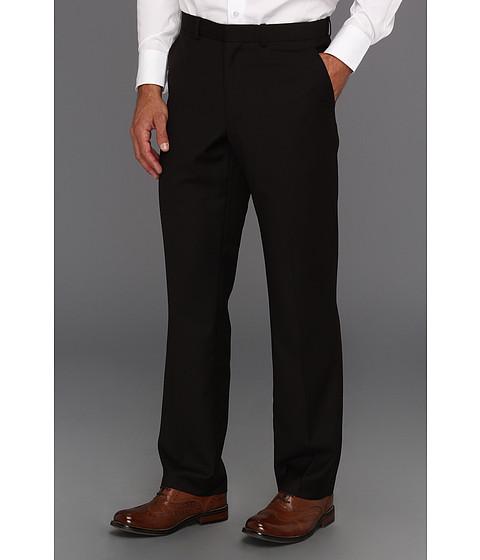 Pantaloni Perry Ellis - Regular Fit Solid Suit Pant - Black