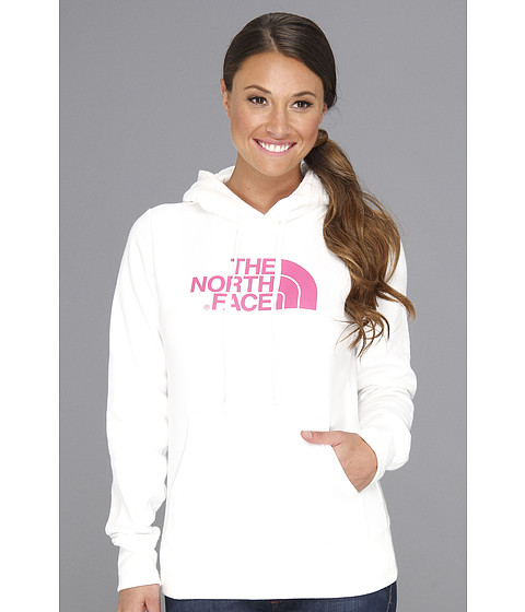 Bluze The North Face - Pink Ribbon Half Dome Hoodie - TNF White