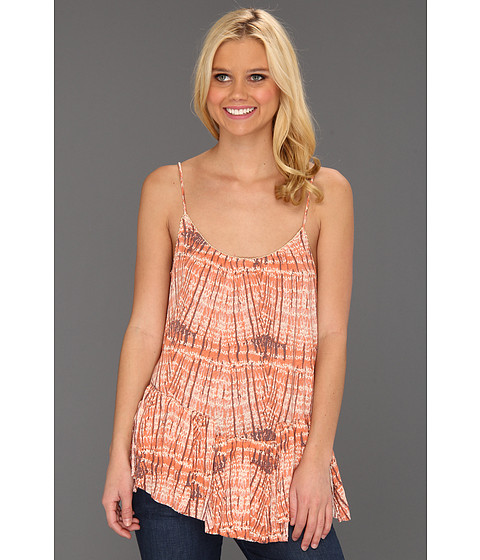 Bluze Free People - Sierra Tank - Coral Combo