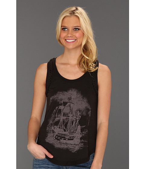 Bluze Free People - Witch Craft Tank - Washed Black Combo
