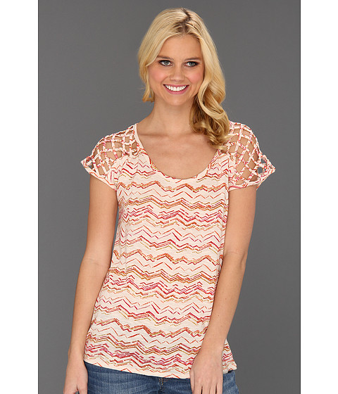Bluze Lucky Brand - Jodi Chevron Stripe Top - Multi