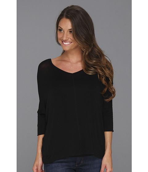 Bluze Culture Phit - Ash Knit Top - Black
