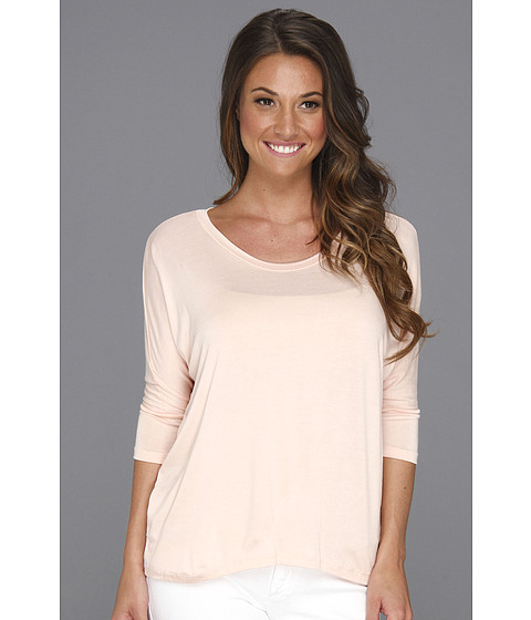 Bluze Culture Phit - Garnette Dolman Top - Light Peach