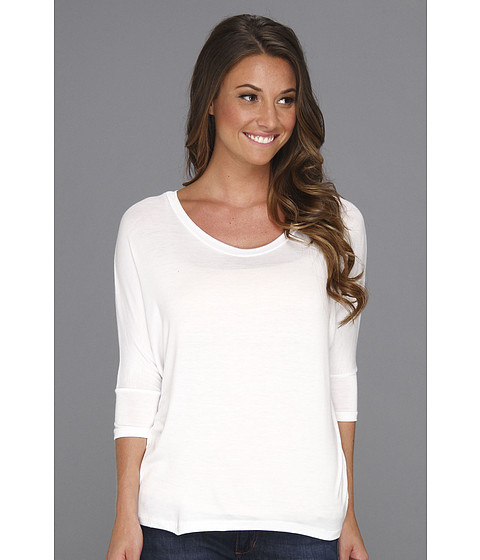 Bluze Culture Phit - Garnette Dolman Top - White