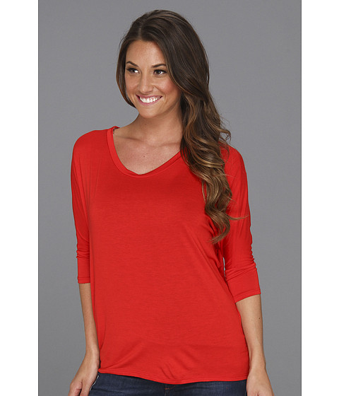 Bluze Culture Phit - Garnette Dolman Top - Red