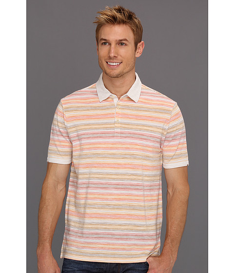 Tricouri Perry Ellis - Cotton Pique Polo - Stone