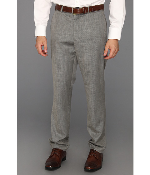 Pantaloni Perry Ellis - Slim Fit Subtle Stripe Suit Pant - Castlerock