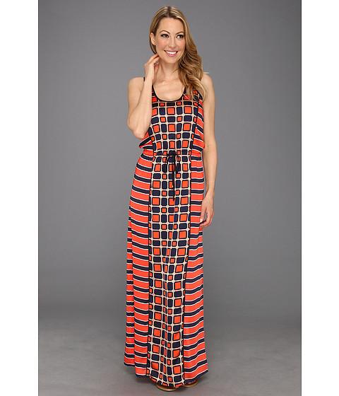 Rochii Michael Kors - Soho Square Sleeveless Maxi Dress - Watermelon