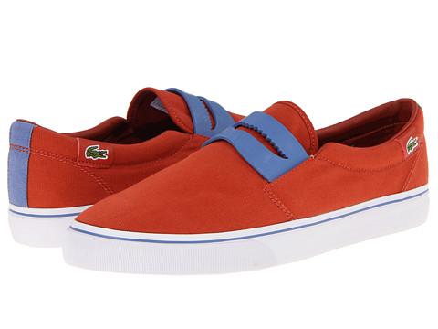 Adidasi Lacoste - Ebury GP - Red/Light Blue
