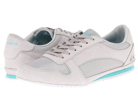 Adidasi Lacoste - Vallareta WJA - Light Grey/Turquoise
