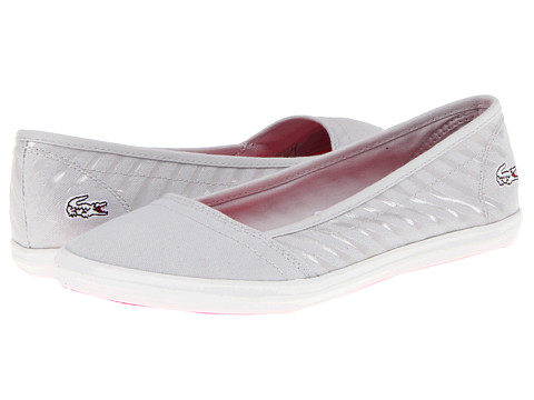 Balerini Lacoste - Ziane Slip SAS - Light Grey/Light Grey