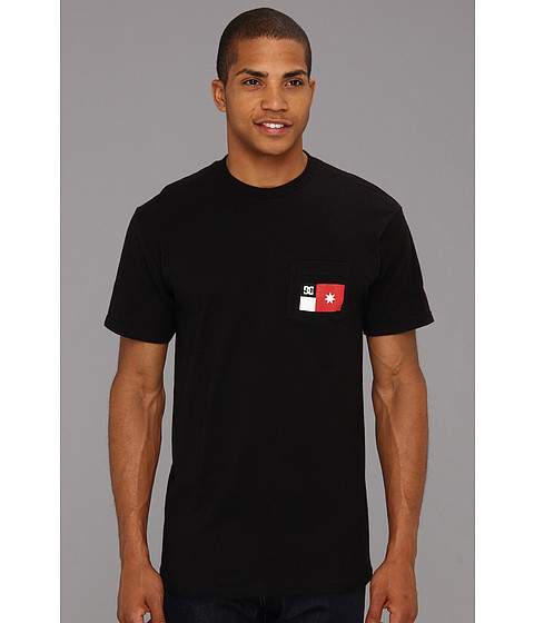 Tricouri DC - Pocket Flag T-Shirt - Black