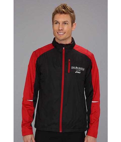 Jachete ASICS - Marathon Reflector Jacket - Black/Brick