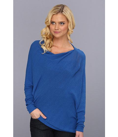 Bluze BCBGMAXAZRIA - Karlie Asymmetrical Top - Larkspur Blue