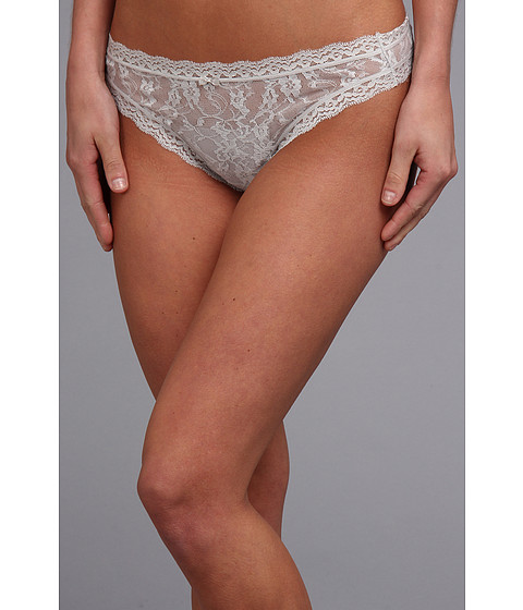 Lenjerie DKNY - Signature Lace Thong 576000 - Silver