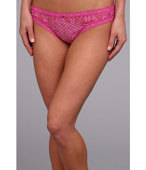 Lenjerie DKNY - Signature Lace Thong 576000 - Geo Print/India