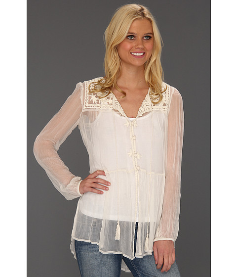 Bluze Free People - Airy Meadow Top - Tea