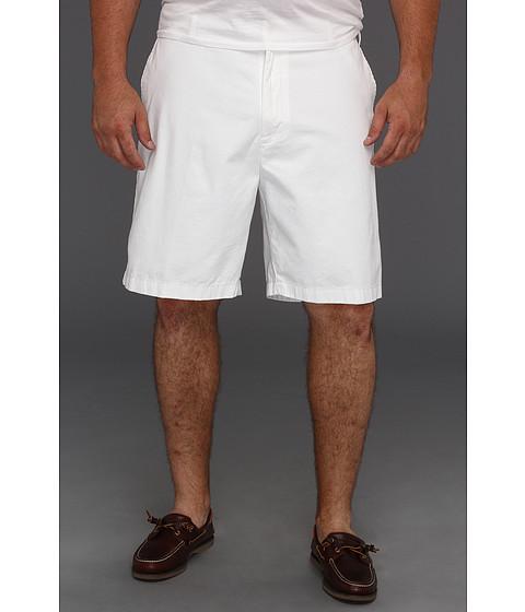 Pantaloni Nautica - Big & Tall Flat Front Short - Bright White