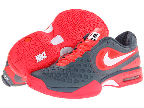 Adidasi Nike - Air Max Courtballistec 4.3 - Atomic Red/Armory Slate/White