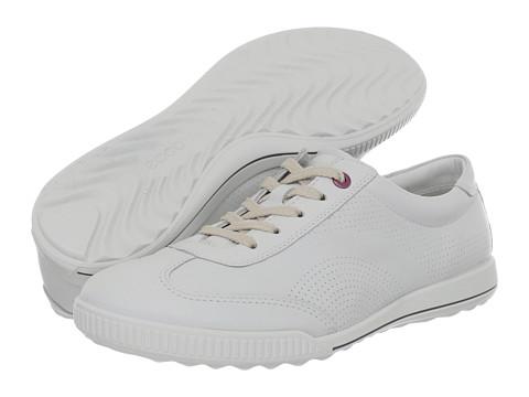 Adidasi ECCO - Crisp Casual Tie - White