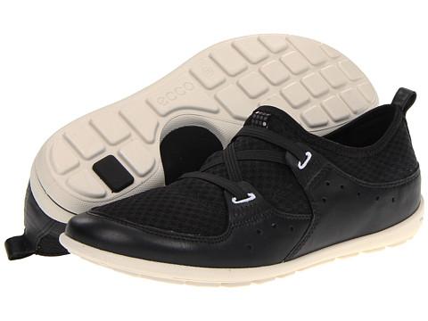 Adidasi ECCO - Jab Elastic Slip On - Black/Black